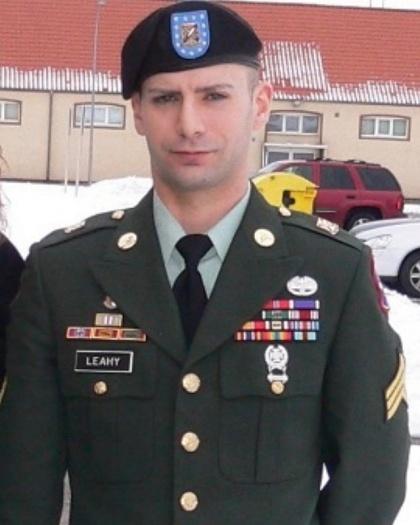michael in uniform