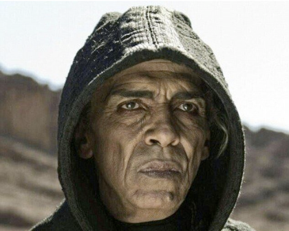 OBAMA AS THE DEVIL (1)