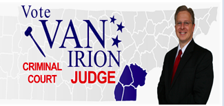VAN IRION FOR JUDGE