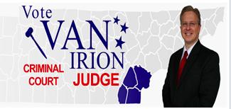 VAN IRION FOR JUDGE