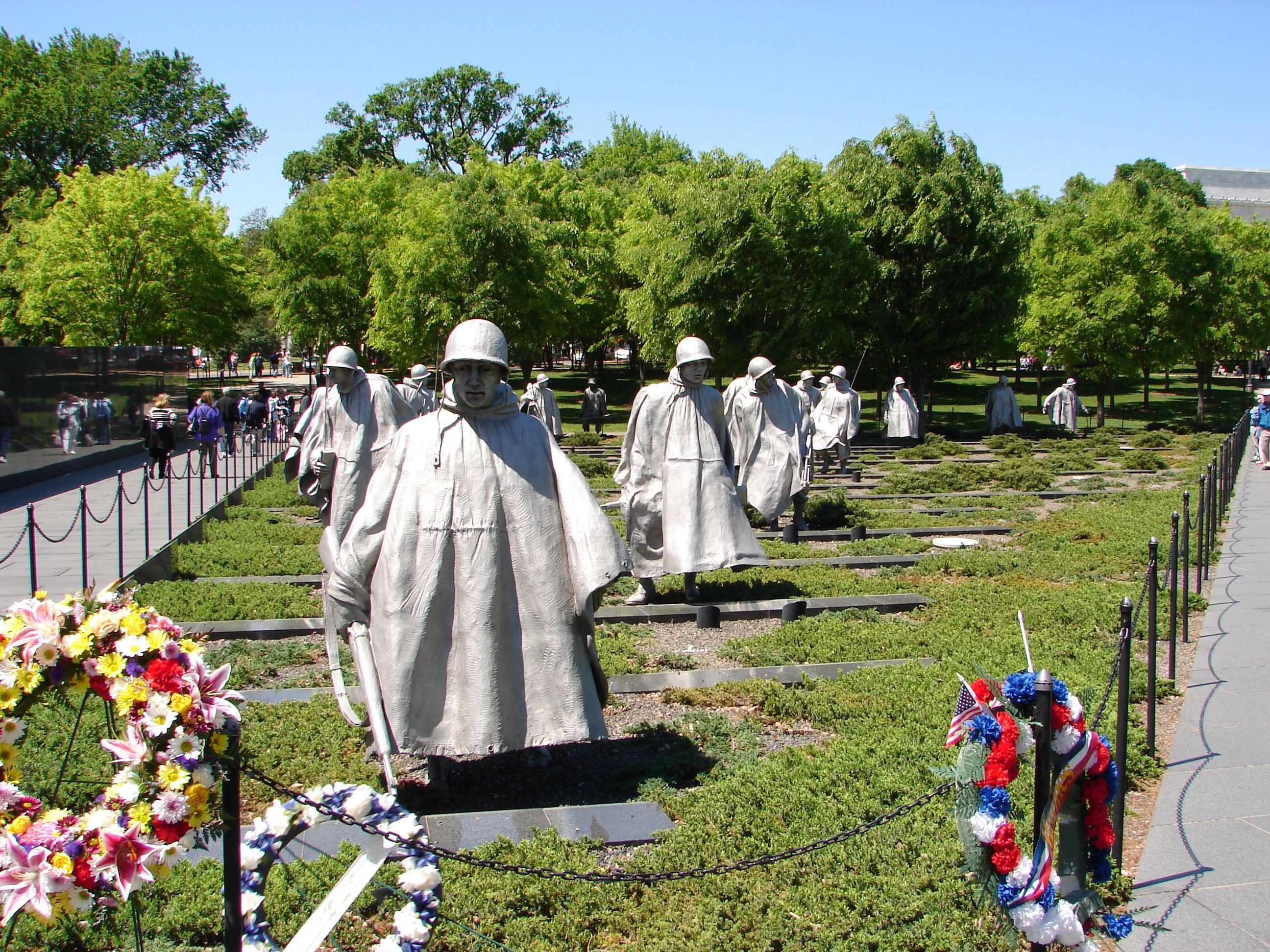 Korean-War-Veterans-Memorials